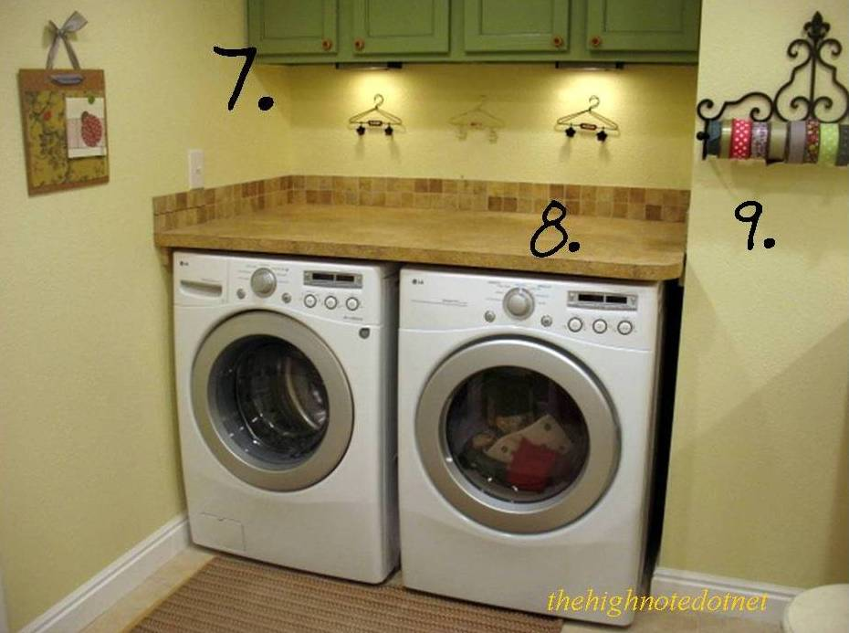 Laundry Storage. Same Unfinished Cabinets Were Used Above My Washer And  Dryer.